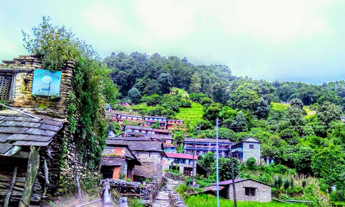 Beautiful lwang village #travel #travelling #VisitNepal2020
