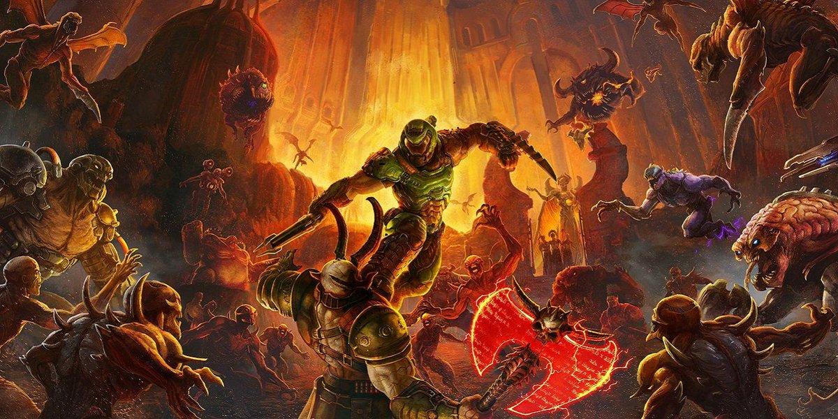 RT @GameRant: How long will the Doom Eternal campaign take to beat? https://t.co/bpQD2lxTRQ https://t.co/VbkFMBVB8p
