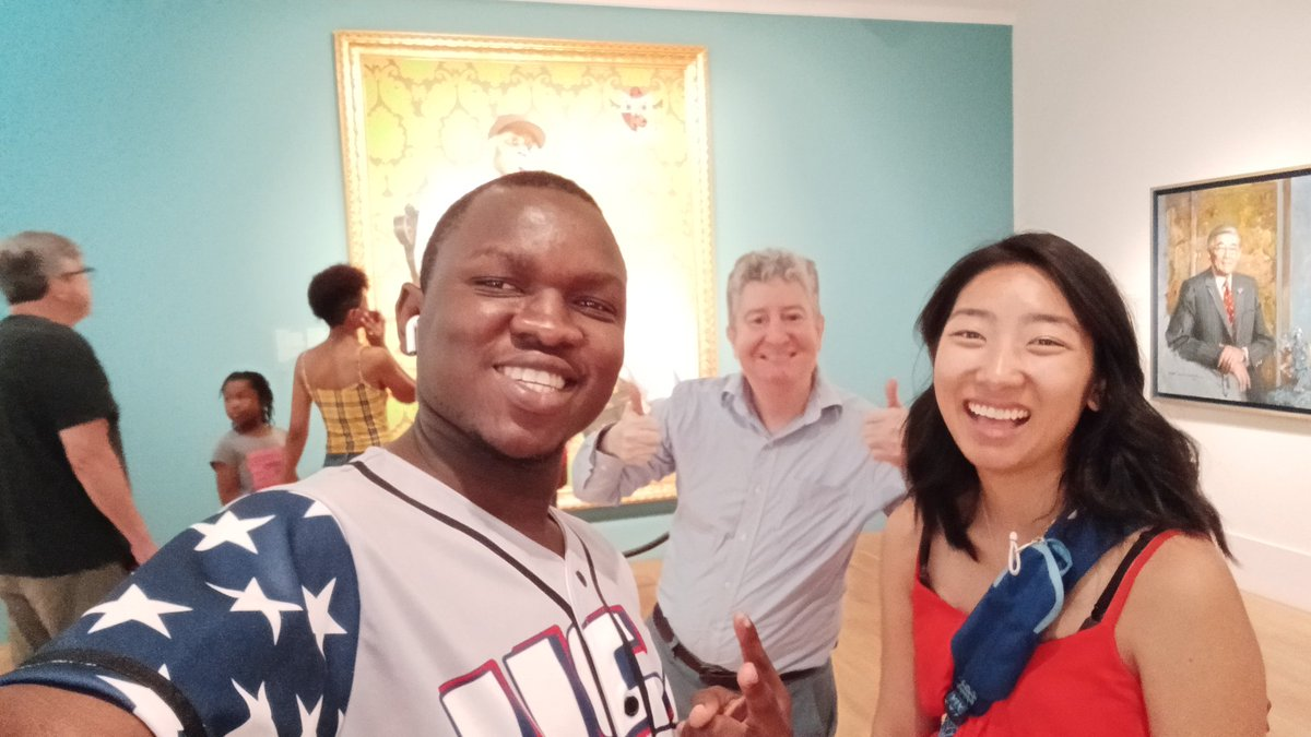 This weekend visit at #USA national portrait gallery showed how demanding is the American population towards the elected ones. It was hard for many presidents to have more than 1 term. #Travel #G7Summit #Africa #Brazil #yali2019 #BusinessIntelligence #Team242 #Art #Culture – at National Portrait Gallery