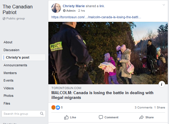 This is eerily similar to language used by the Christchurch and El Paso shooters. Instead of 'invaders' it's 'a battle'. Shame on Sun News.   #YellowVestsCanadaAreAHateGroup #cdnpoli<br>http://pic.twitter.com/biCuStGUKc