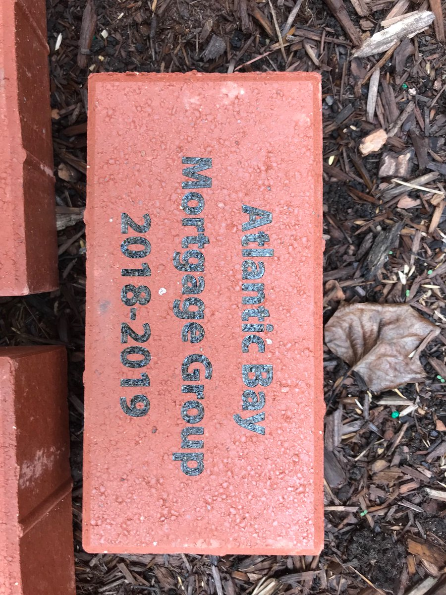So grateful to the 2018-2019 Platinum Gala sponsors who are recognized by these pavers for our community garden.@grcollegiate @vbschools @Pharrell