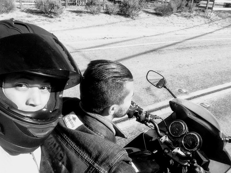 #SundayMorning throwback ♥️our test ride before going onto the main road 😝cheers to unforgettable #friends and #memories 😘http://thetravellingms.com#travel #California #volunteering #SundayThoughts #MS #fun #MultipleSclerosis #motorcycle #Bahamian #travelling #sunnyday