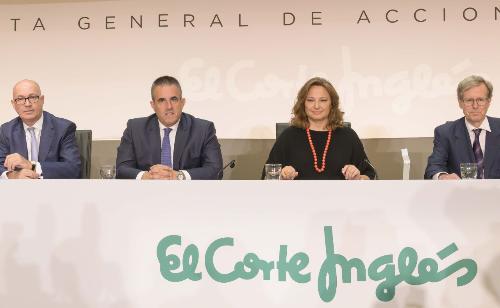 """#MartaÁlvarez: """"@elcorteingles tiene proyecto y un futuro prometedor"""" https://t.co/Ls8Jv6ArWD #Juntadeaccionistas #centrocomercial  #Retail #FoodRetail https://t.co/bDWV7BTjmT"""
