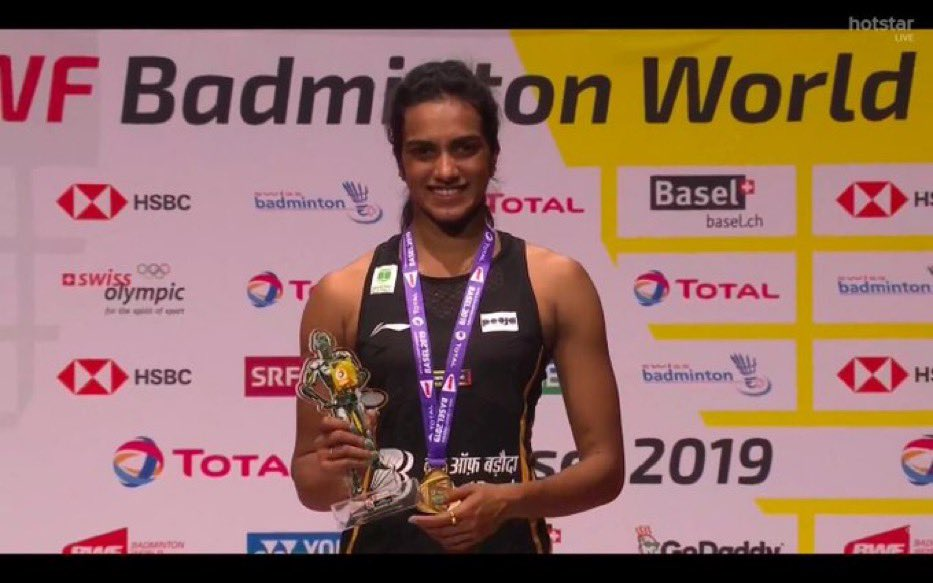 Way to go  #PVSindhu  Your dedication and hard work is so inspiring!! Such a proud moment for all of us!  <br>http://pic.twitter.com/6aAuHpsGIo
