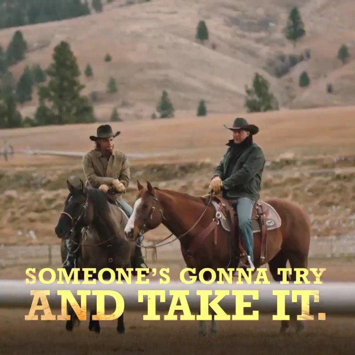 RT @Yellowstone: Wise words from John Dutton. #YellowstoneTV https://t.co/kafapJVI5N