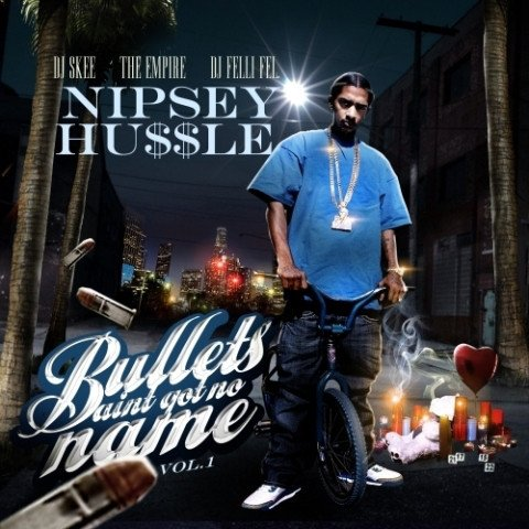 "Today 11 years ago, Nipsey Hussle released his 2nd Mixtape ""Bullets Ain't Got No Names Vol. 1"". Classic west coast feel with new twist. Hard!! <br>http://pic.twitter.com/IjvvWkQemH"