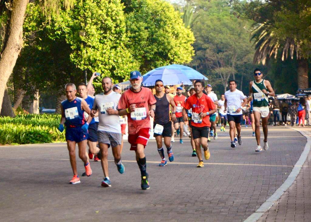 Todos tienen un objetivo en mente, llegar a la meta. ¡Vamos maratonistas, sí se puede! #MaratónCDMX2019