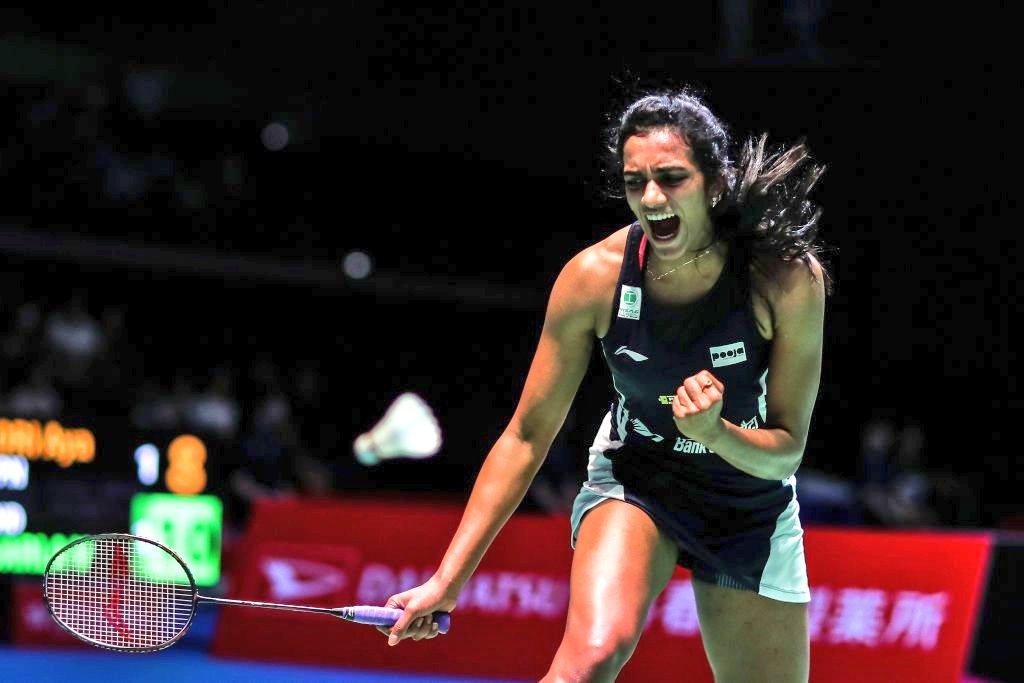Amazing performance, @Pvsindhu1! Congratulations on becoming the 1st ever 🇮🇳 to win the BWF World Championships! You have made India proud, yet again. #BWFWorldChampionships2019