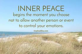 Inner peace begins the moment you choose not to allow events to control your emotions #WednesdayWisdom #peace http://bit.ly/moodsbox2