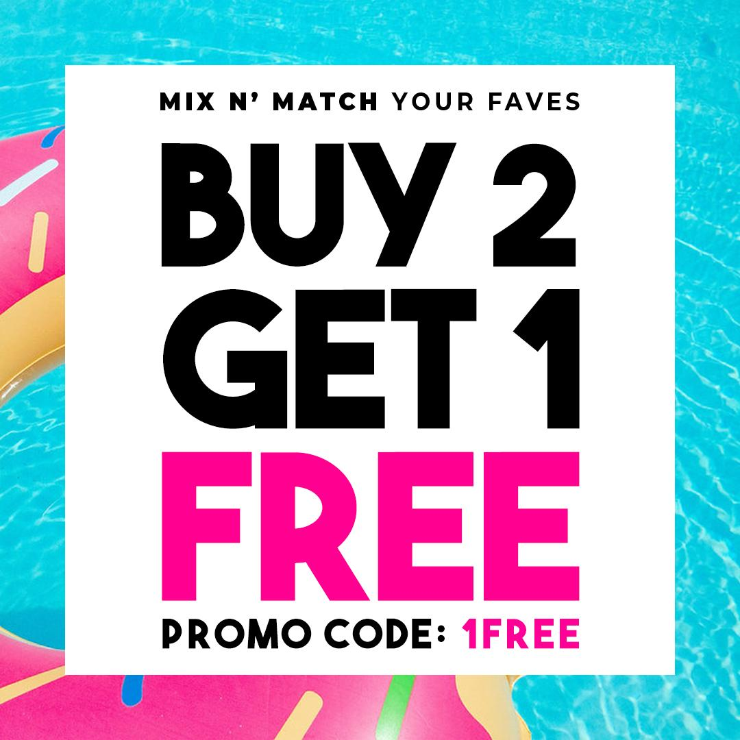 MIX & MATCH OUR FAVORITE FAVES  BUY 2 & GET 1 FREE  USE PROMO CODE AT CHECKOUT : 1FREE  . #shoppingaddicts #musthavefashion #clothingrequest #girlythings #customclothes #fashiongoalsz #streetstylefashion #fashionlover #fashionista #classyandfashionable #styledbyme #styleinspopic.twitter.com/Qg0YEPPQcG