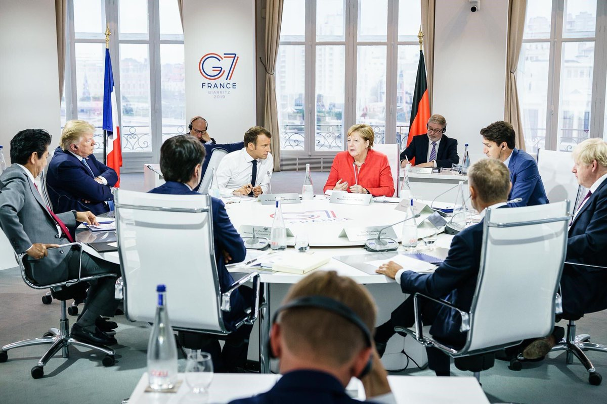 RT @ianbremmer: Trump obliges with another petulant G7 pose. https://t.co/pa9X1EXB6s