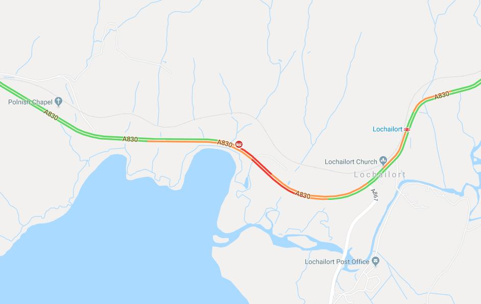 test Twitter Media - ⛔️NEW ⛔️ ⌚️15:30 #A830 near Lochailort is currently closed in both directions due to a RTC #DriveSafe #BeAware  @NWTrunkRoads https://t.co/JlKtAJPa04