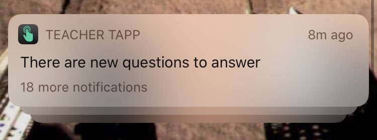 @A_Weatherall @TeacherTapp you really want iOS13 users to answer Qs eh?