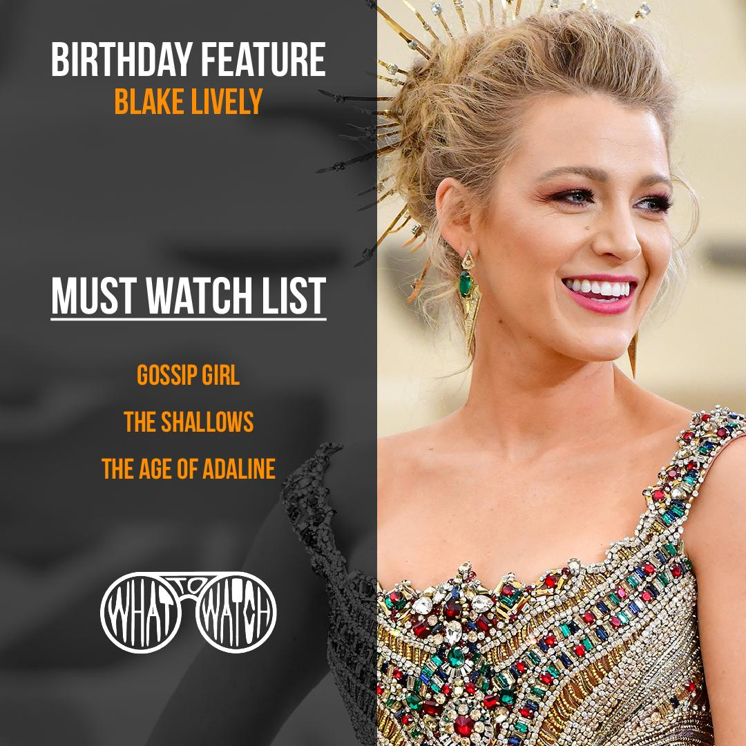 How can you not see that smile and fall for her?  Happy birthday!  #happybirthdayblakelively #whattowatch #ageofadeline #gossipgirl #theshallows https://t.co/vHLLqkWKhZ