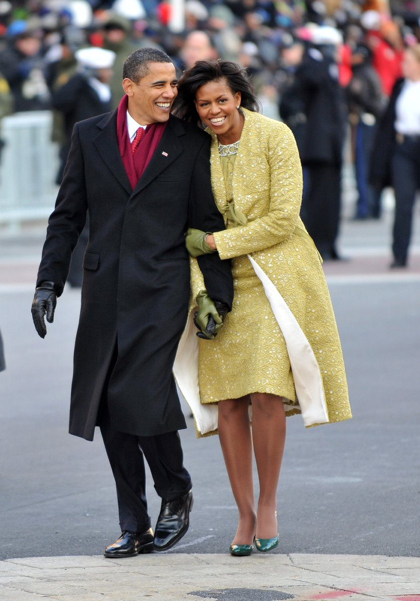 #ObamaOutdidTrump President Obama's First Lady wanted to hold his hand.