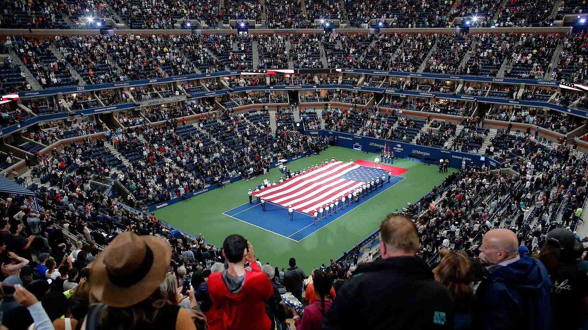 ¡NUEVA YORK ESTÁ PREPARADA! 📊 Tenistas con más victorias en el #USOpen (1968-2019): 98 🇺🇸 Jimmy Connors 85 🇨🇭 Roger Federer 79 🇺🇸 Andre Agassi 73 🇺🇸🇨🇿 Ivan Lendl 71 🇺🇸 Pete Sampras 69 🇷🇸 Novak Djokovic 65 🇺🇸 John McEnroe 58 🇪🇸 Rafa Nadal 47 🇦🇺 Lleyton Hewitt 45 🇬🇧 Andy Murray