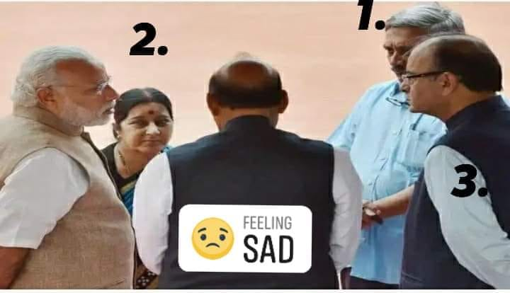 No more BJP leaders with PM Modi...@Mahak_Yadav77 @SadiyaSadaf3 @mamtan14 @PoojaNagar_
