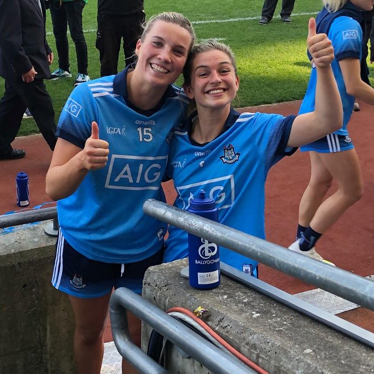 Cuala Gaa On Twitter There S Jennifer Dunne And Martha Byrne After Today S All Ireland Semi Final Great Win For Dublinladiesg They Now Face Galwaylgfa In The Final On September 15th Cantseecantbe