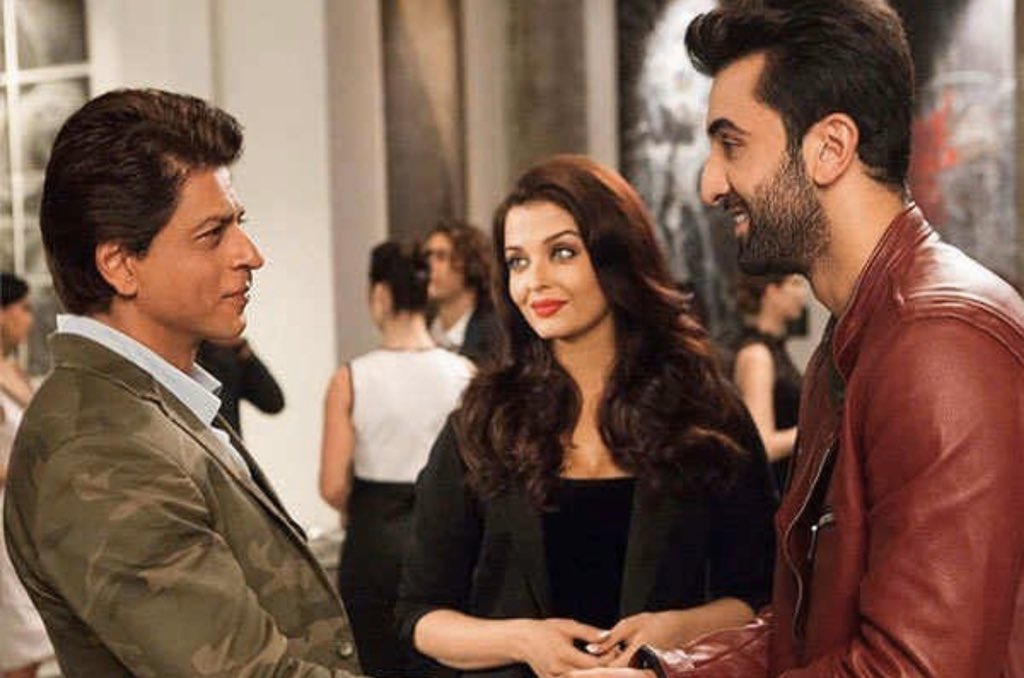 RT @filmfare: Just how epic was this scene from #ADHM? @iamsrk #AishwaryaRaiBachchan #RanbirKapoor https://t.co/UpzHV4rw2a