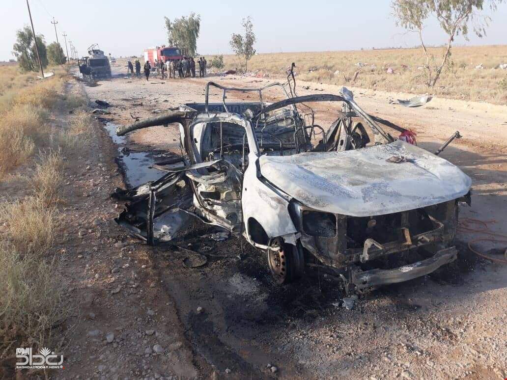 صحيفة: اسرائيل تقف وراء قصف المعسكرات في العراق  EC1KrxaXkAYLO3k