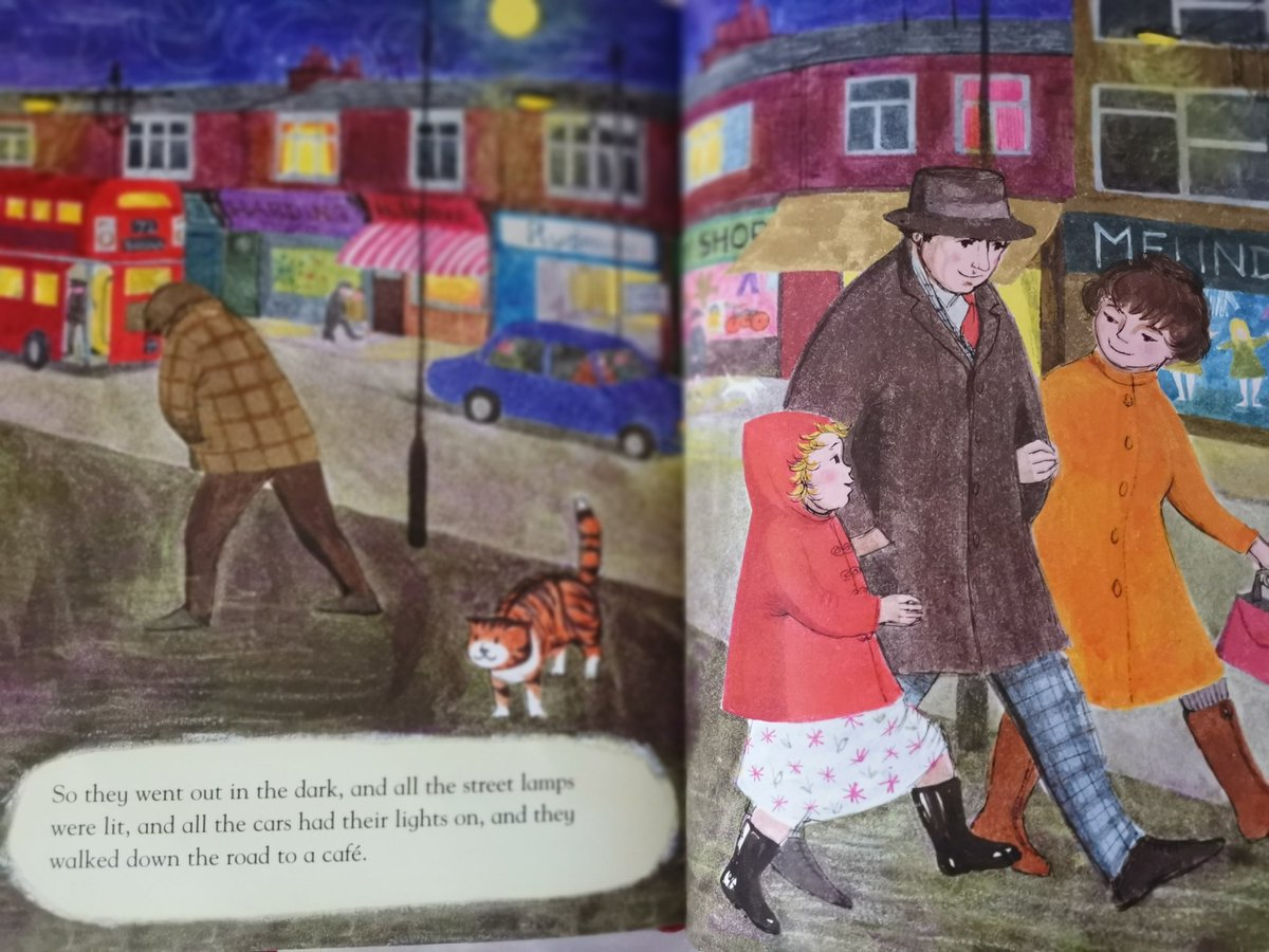 After reading The Tiger Who Came To Tea about a hundred times it now seems clear that Sophies mother is an alcoholic who blames a stray cat for making a mess in the house and not bathing Sophie. The cat appears near the end. It looks very tigery. #tigerwhocametotea #explained