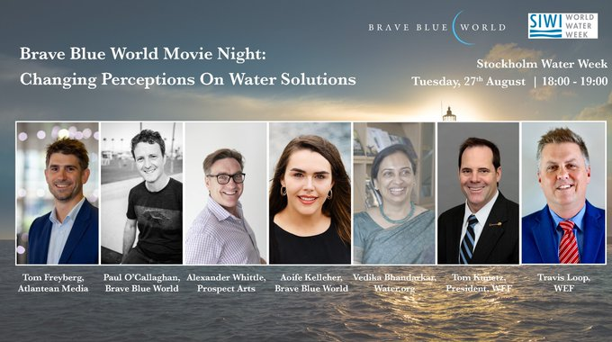 Xylem is proud to be a production partner supporting Brave Blue World, the upcoming documentary on water and innovation. Hear from the filmmakers at #...
