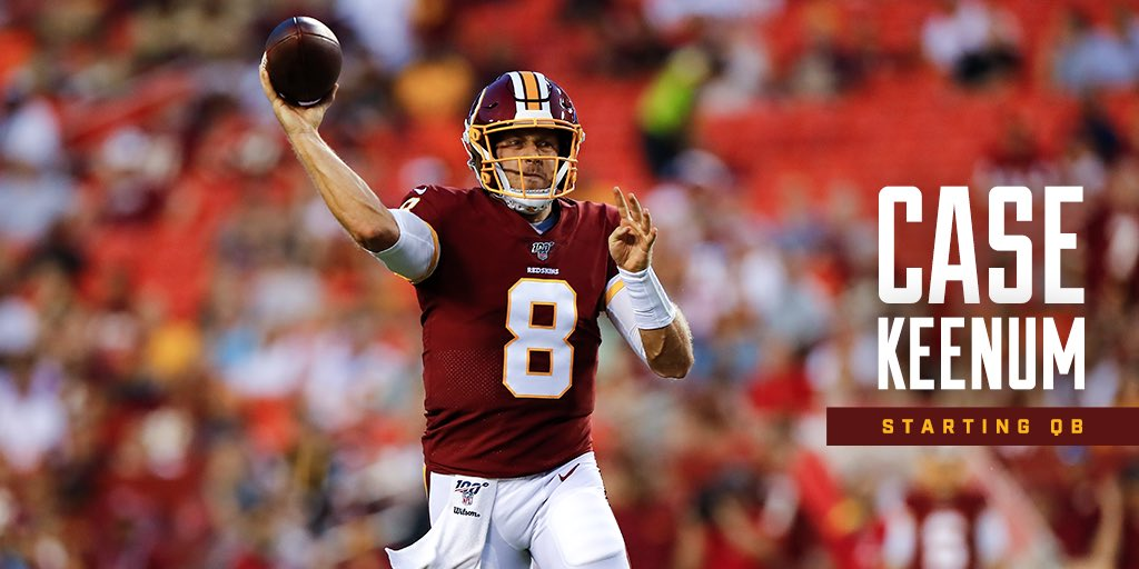 Jay Gruden Has Named The Washington Redskins' Starting QB