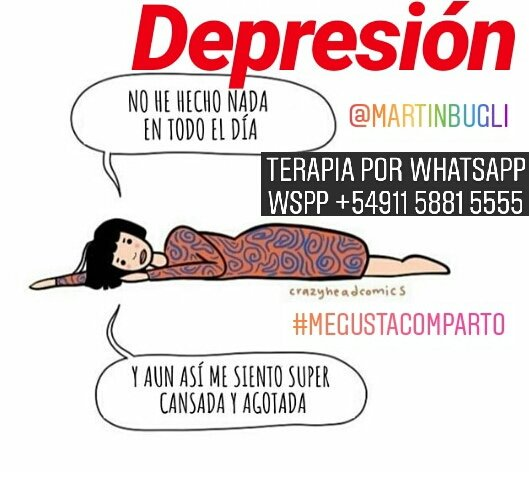 Martin Bugli On Twitter Depresión Terapia Psicologia