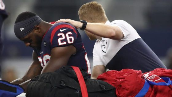 RT @fantasycouch: It is now 100% confirmed. Texans RB Lamar Miller suffered a torn ACL. His season is over https://t.co/ZuMCFvTC0B