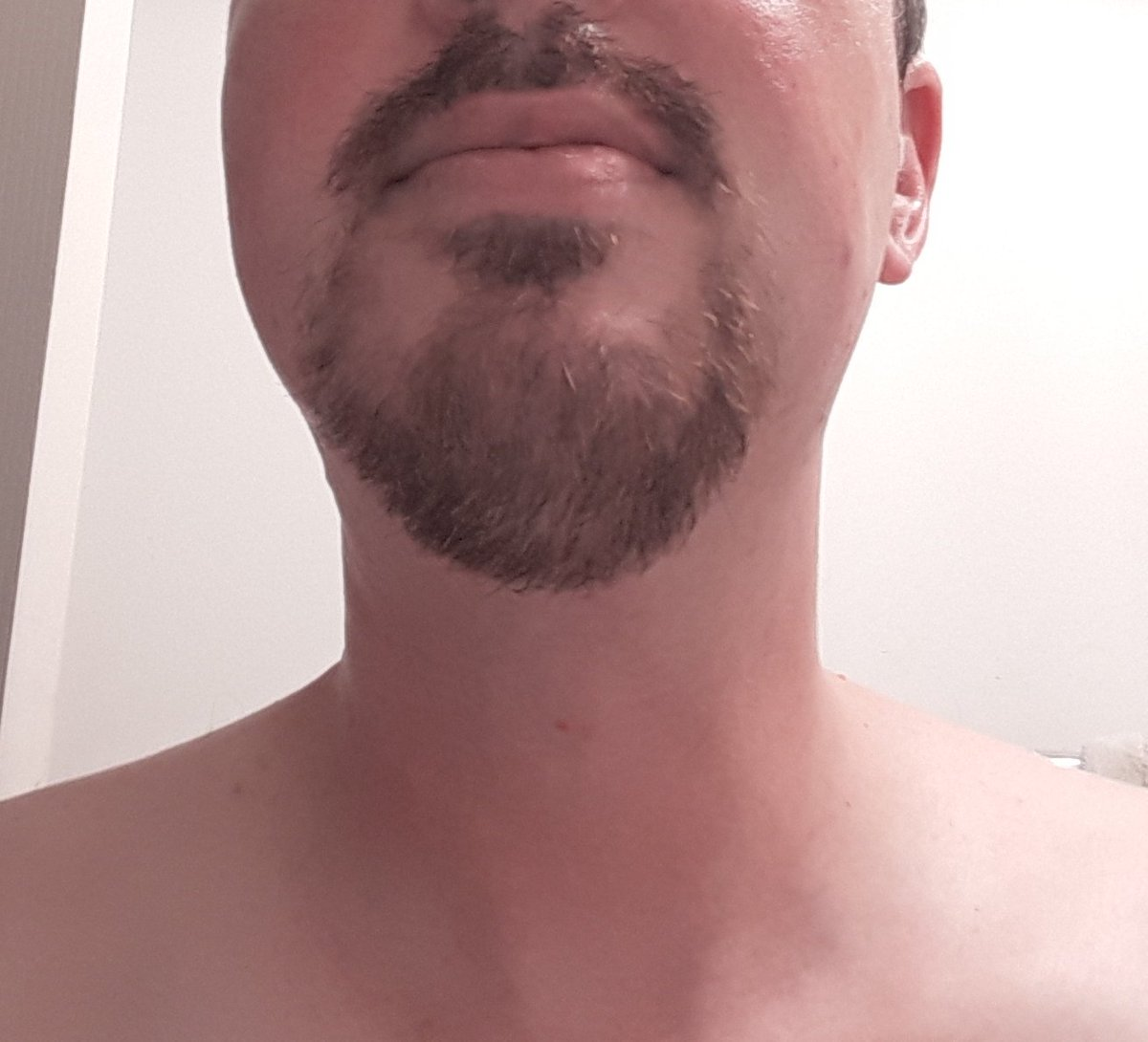 Goodbye Rubbish Beard, hello Respectable Beard. #BackToWork https://t.co/ZA7IsQmbik