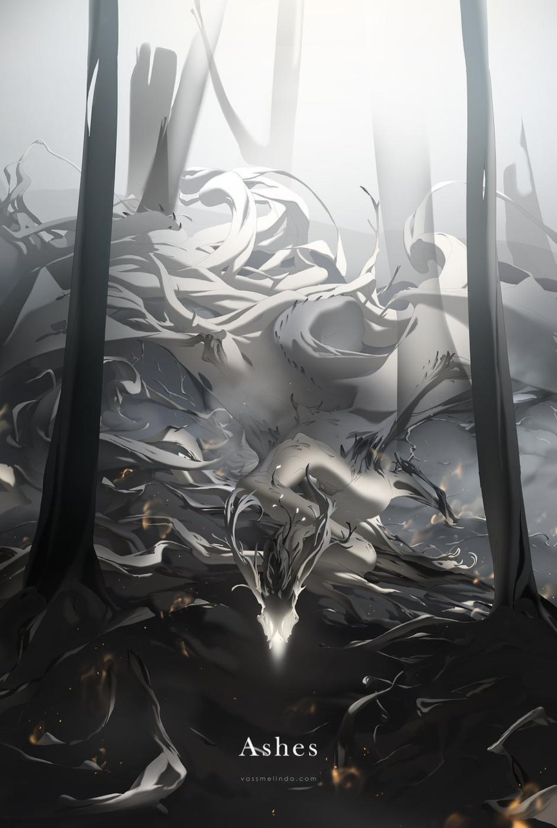 RT @whiteraven90: IV. - The seething cedars grew bone-white fangs,  and claws of ashen wood. https://t.co/fHEE2l0EyW