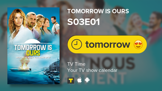 Tomorrow is Ours is back tomorrow! #demainnousappartient #tvtime<br>http://pic.twitter.com/WLMiOy0rjr