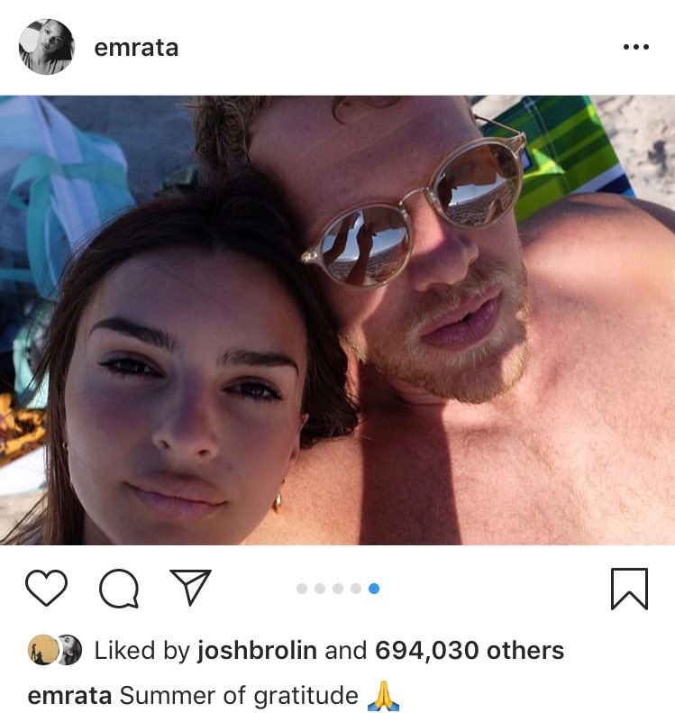 Did Emily Ratajkowski's husband take this selfie with a book!? https://t.co/Hx4JTLY0pg