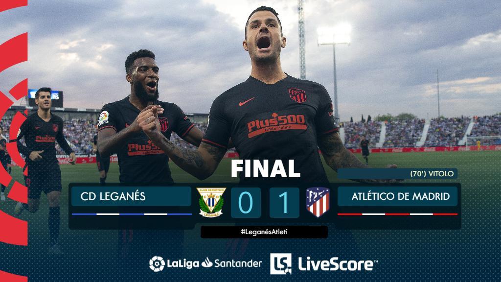 Leganés-Atletico Madrid