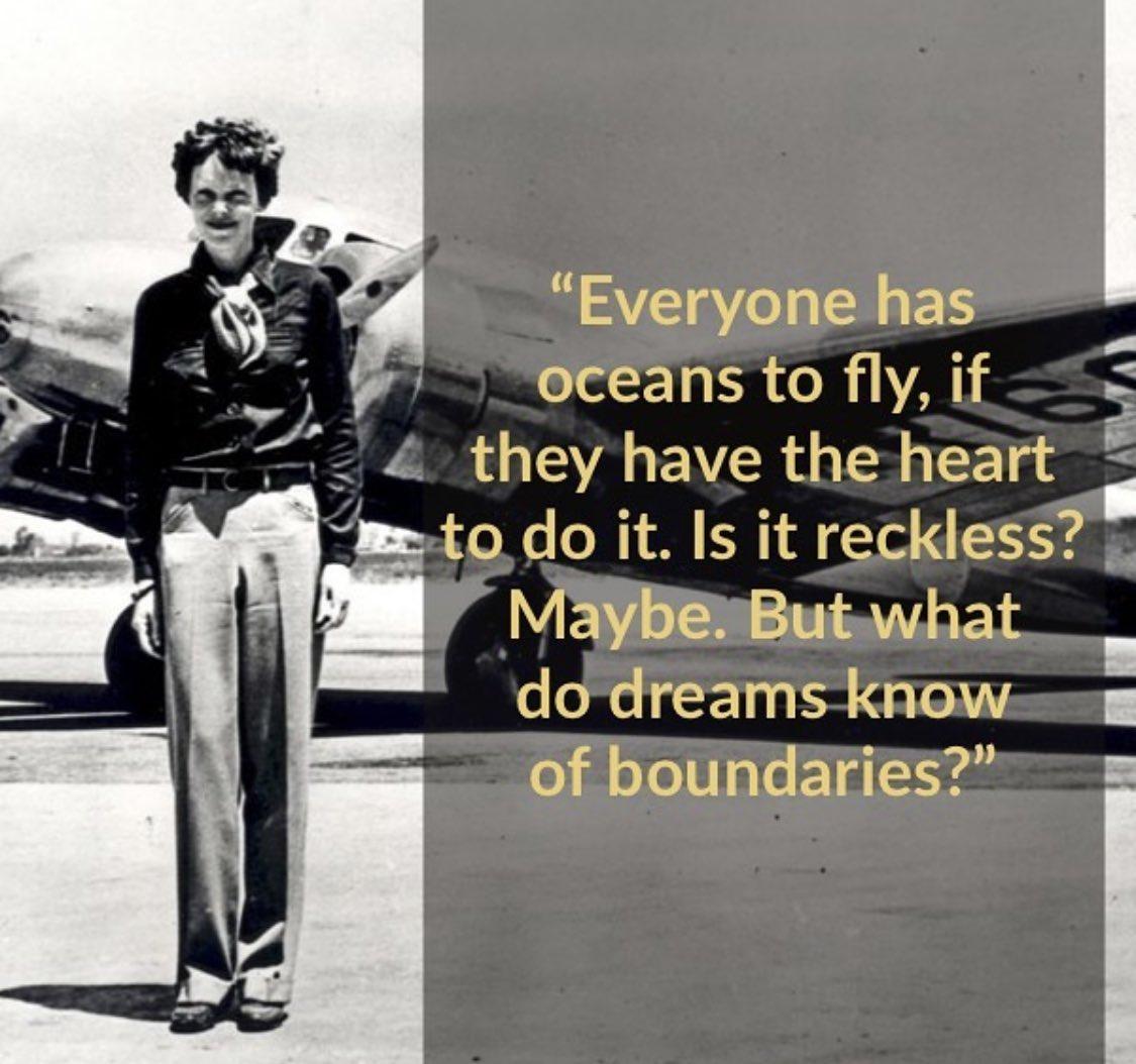 Amelia Earhart. https://t.co/KNB129YSZT