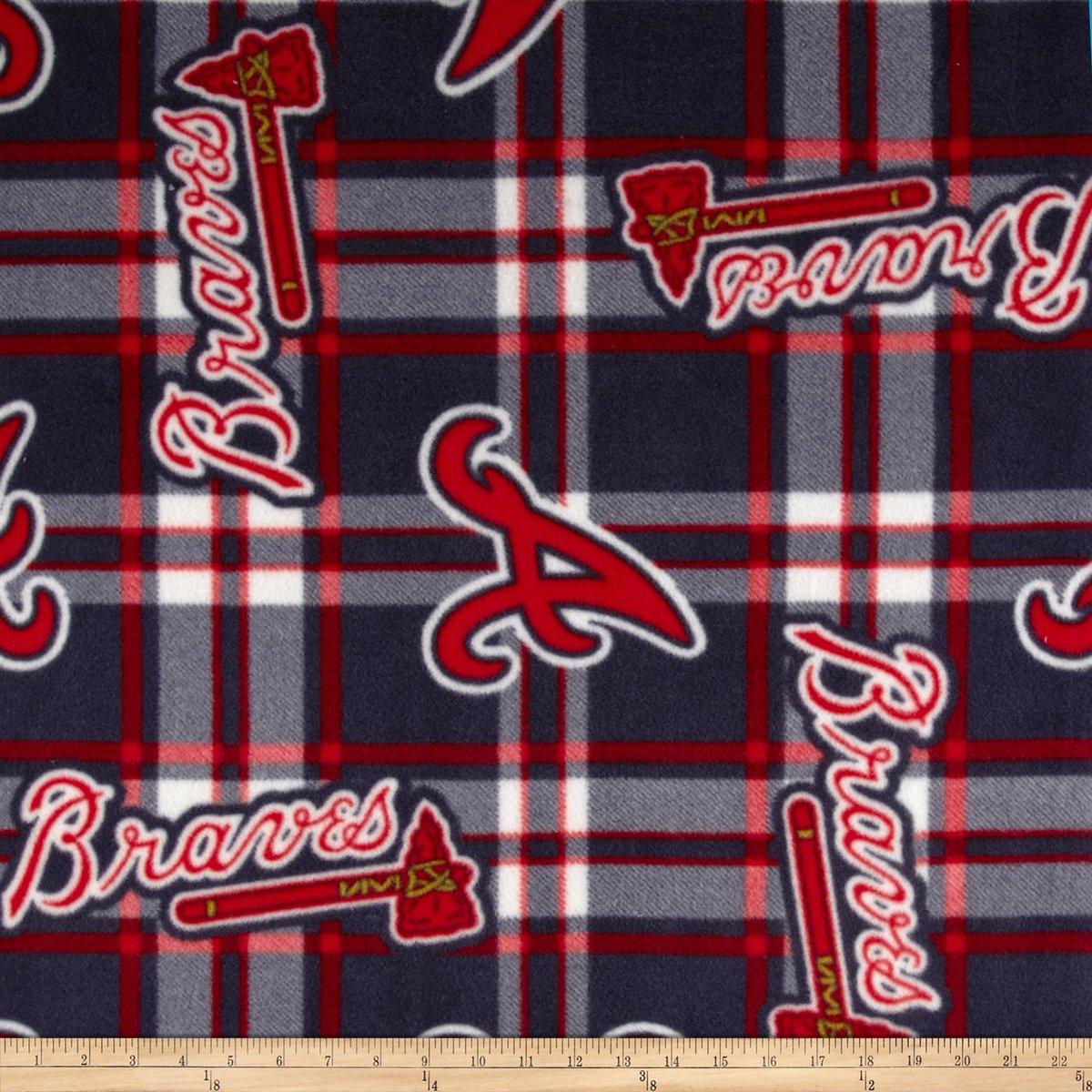 MLB Fleece Atlanta Braves Plaid Navy/Red Fabric By The Yard https://t.co/fUTaKmmCg6 #fabric https://t.co/bfcK1EDc0U