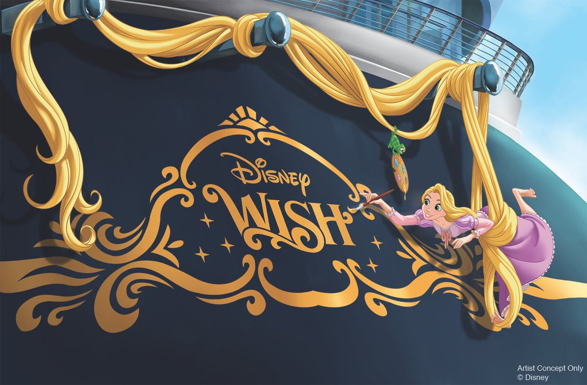 """BREAKING: """"Disney Wish"""" Announced As New Ship for Disney Cruise Line, Setting Sail in January 2022   http:// wdwnt.news/19082528    <br>http://pic.twitter.com/HMb4cL18kM"""