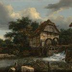 Image for the Tweet beginning: Jacob van Ruisdael captured the