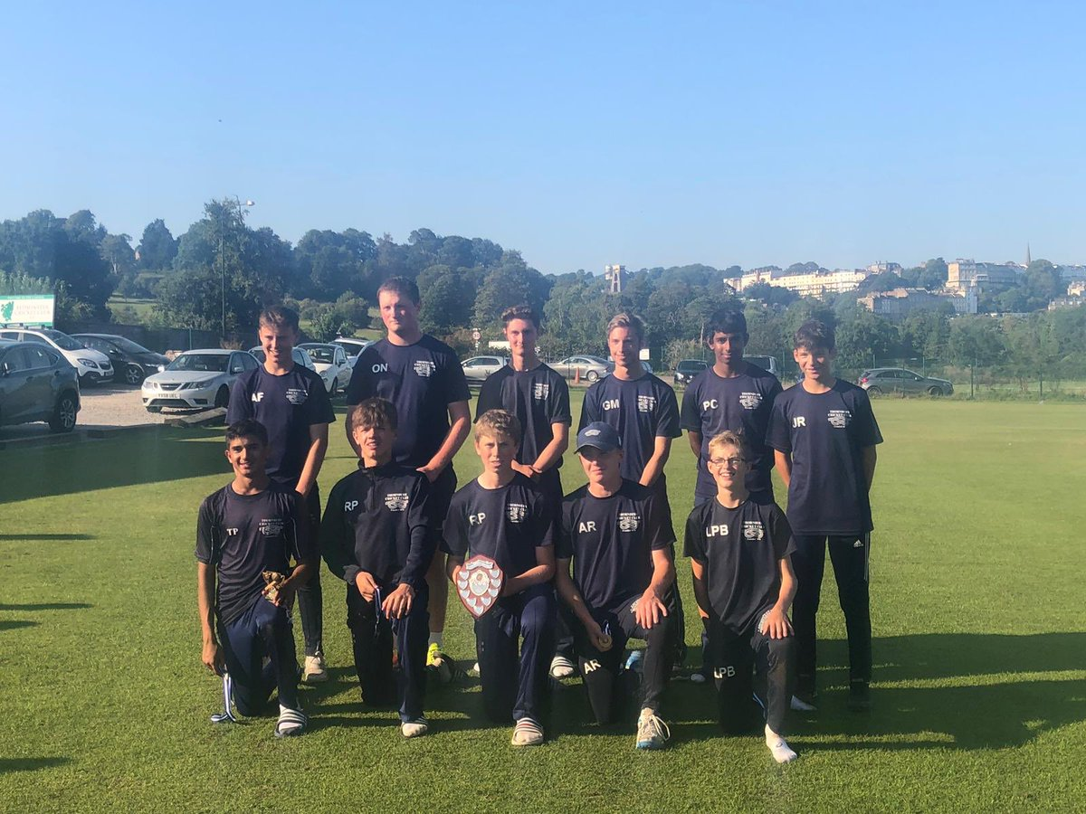test Twitter Media - A huge congratulations also goes to @ThornburyCC who were crowned @Jelf_UK U16 T20 Champions today after beating @CheltCricket in the final @bedminstercc  On route to the final, Thornbury beat @bedminstercc & Cheltenham beat @LechladeCC in the Semi-Finals  Thanks @bedminstercc 👍🏼 https://t.co/22T7Nc6sMU