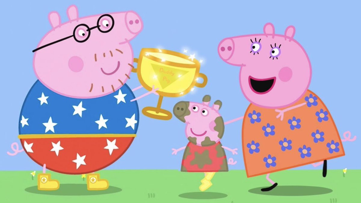 RT @JakeFtbl: Daddy pig has the same amount of European Trophies as Man City, let that sink in... https://t.co/V5j5njWXmZ