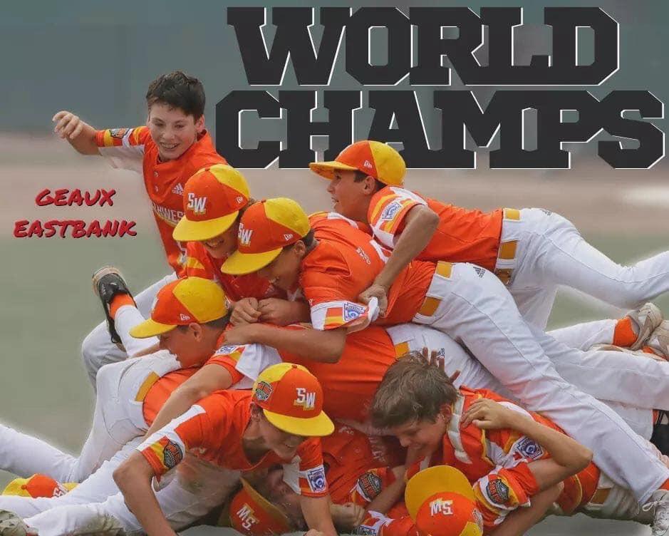 RT @RobManess: Huge victory River Ridge! #Louisiana is proud of you Little League World champs. https://t.co/AZI4RMrAAP