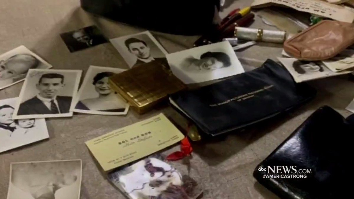 LOST AND FOUND: A woman was reunited with a purse she lost in 1957 after it was found by a construction worker in Detroit, Michigan, with the worker's wife using Facebook to help locate the owner. @tomllamasabc reports.https://abcn.ws/1c6SfMC