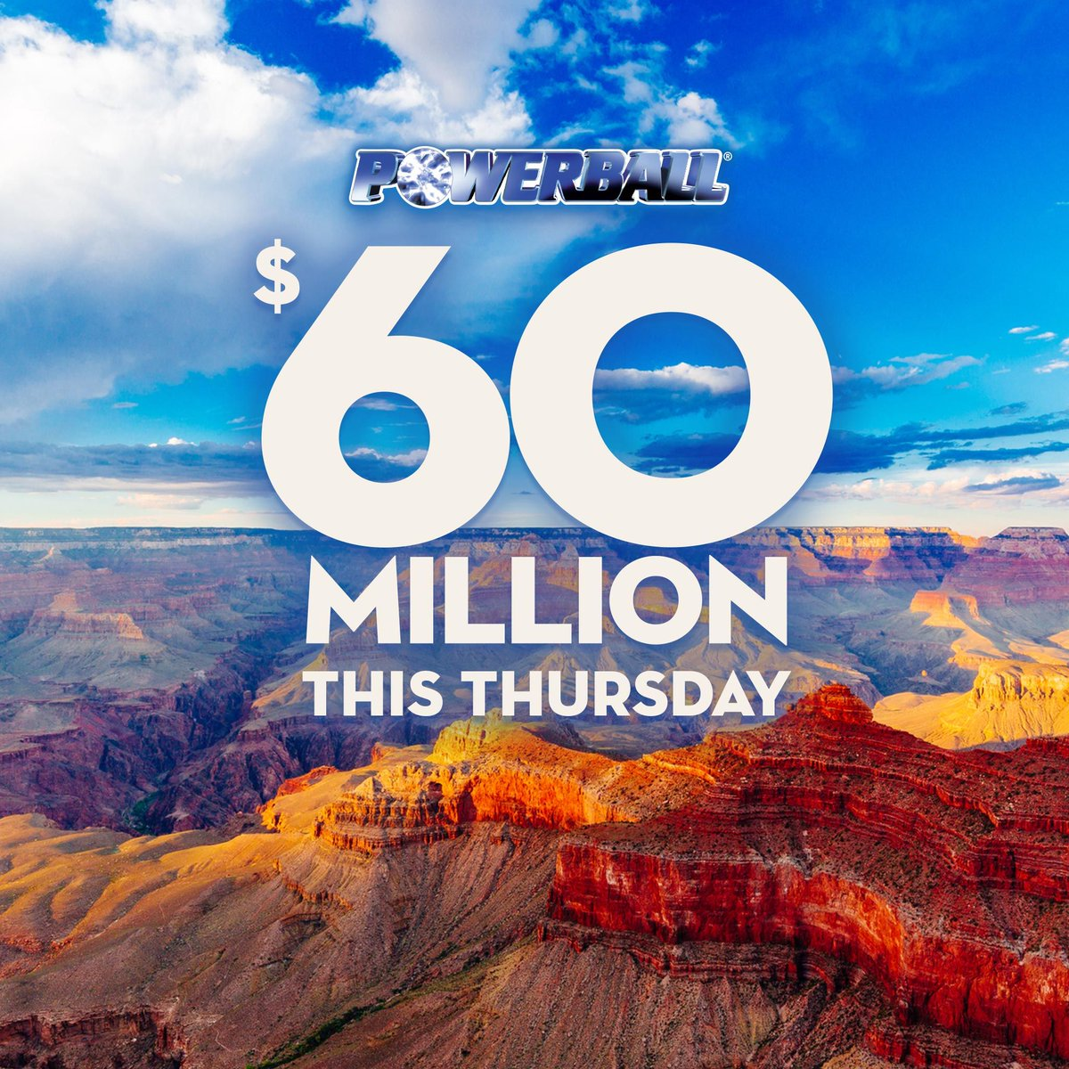 Powerball is an incredible $60,000,000 this Thursday! Read about some past Powerball winners on our blog and how you could be next. https://t.co/SpSSRb3RTr https://t.co/IOvC4H85if