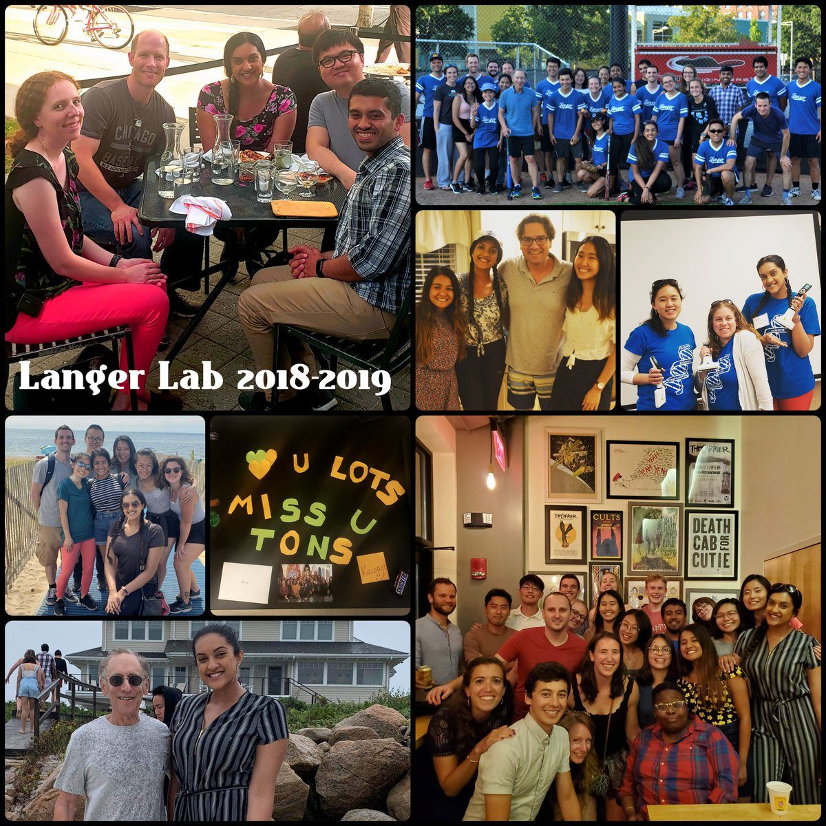 The end of an amazing chapter..I really enjoyed my year-long tenure at the #langerlab @MIT! Thank you to all the amazing mentors at the @kochinstitute for giving me this wonderful opportunity & teaching me along the way - I hope to one day be an amazing leader like you all!<br>http://pic.twitter.com/qV0x0mWNh2