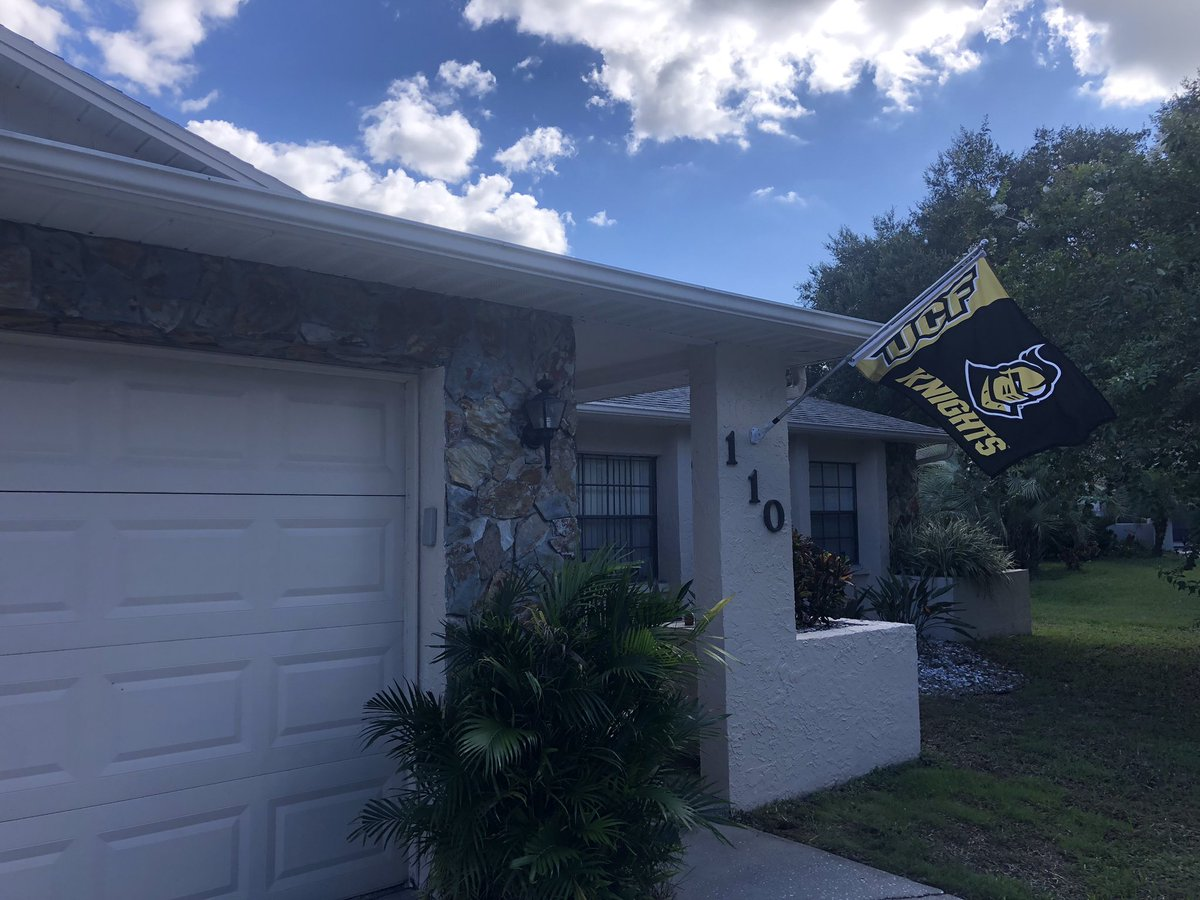 New season. New flag. We're ready for @UCF_Football in Safety Harbor, FL! https://t.co/Z0kMwNnBrx