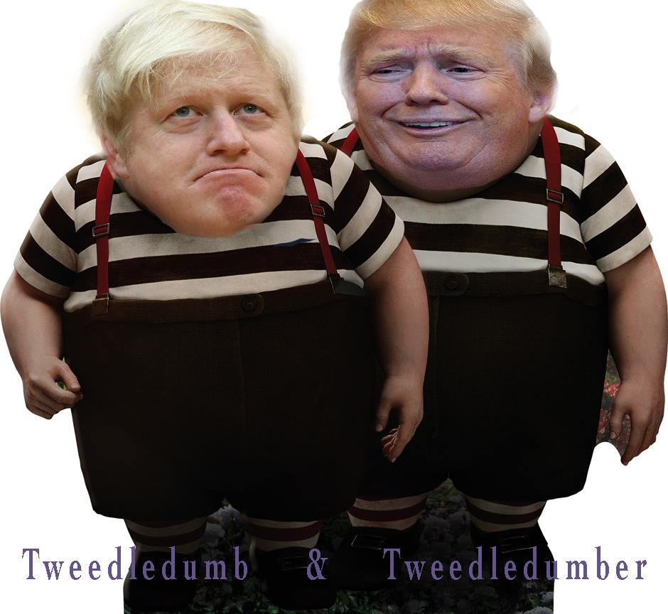 Complete Chirade performed by two clowns that made the decisions on this Trade Deal in secret over 4years ago, pretending badly to the UK Electorate that not only do they get on, but that this is all to come in the Future, Its embarrassing to have to witness twitter.com/BorisJohnson/s…