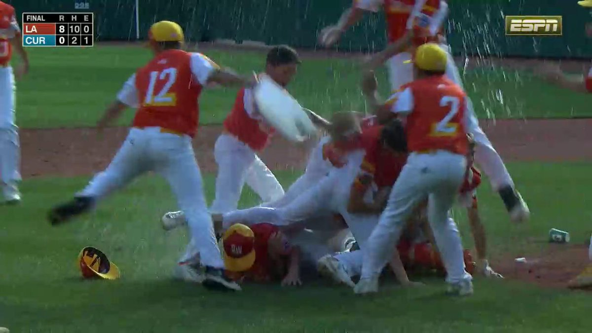 Louisiana shuts out Curacao to win first Little League World Series title