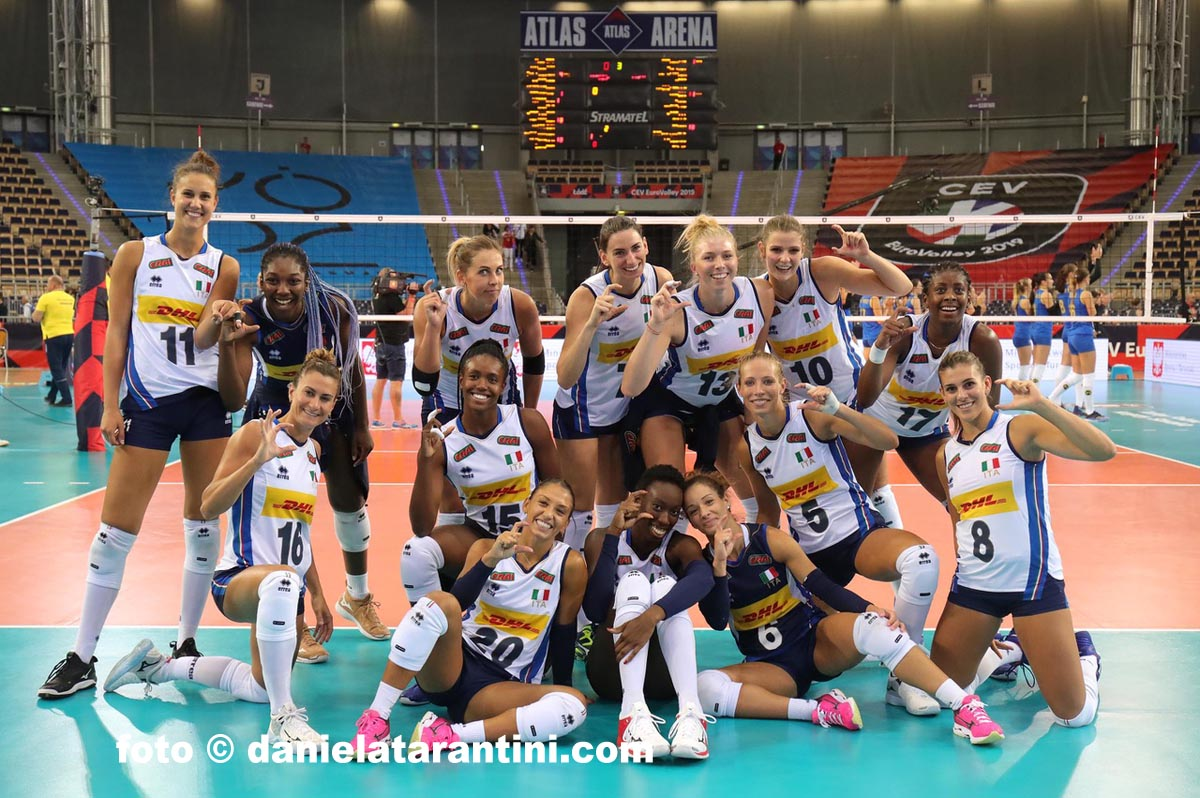 #EuroVolleyW