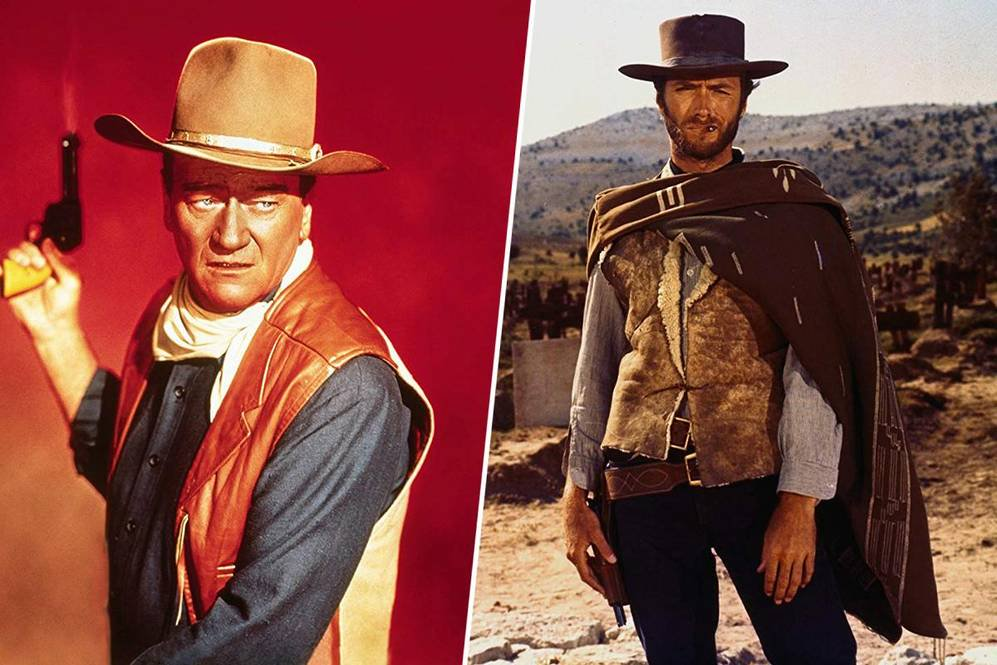 Your town is overrun by criminals and you need help ASAP. Do you call on John Wayne (America's cowboy) to help? Or are you going with Clint Eastwood (the dark antihero) to bring the law back to your neighborhood? https://t.co/amYQZvtkNz https://t.co/TEugM1TmVn