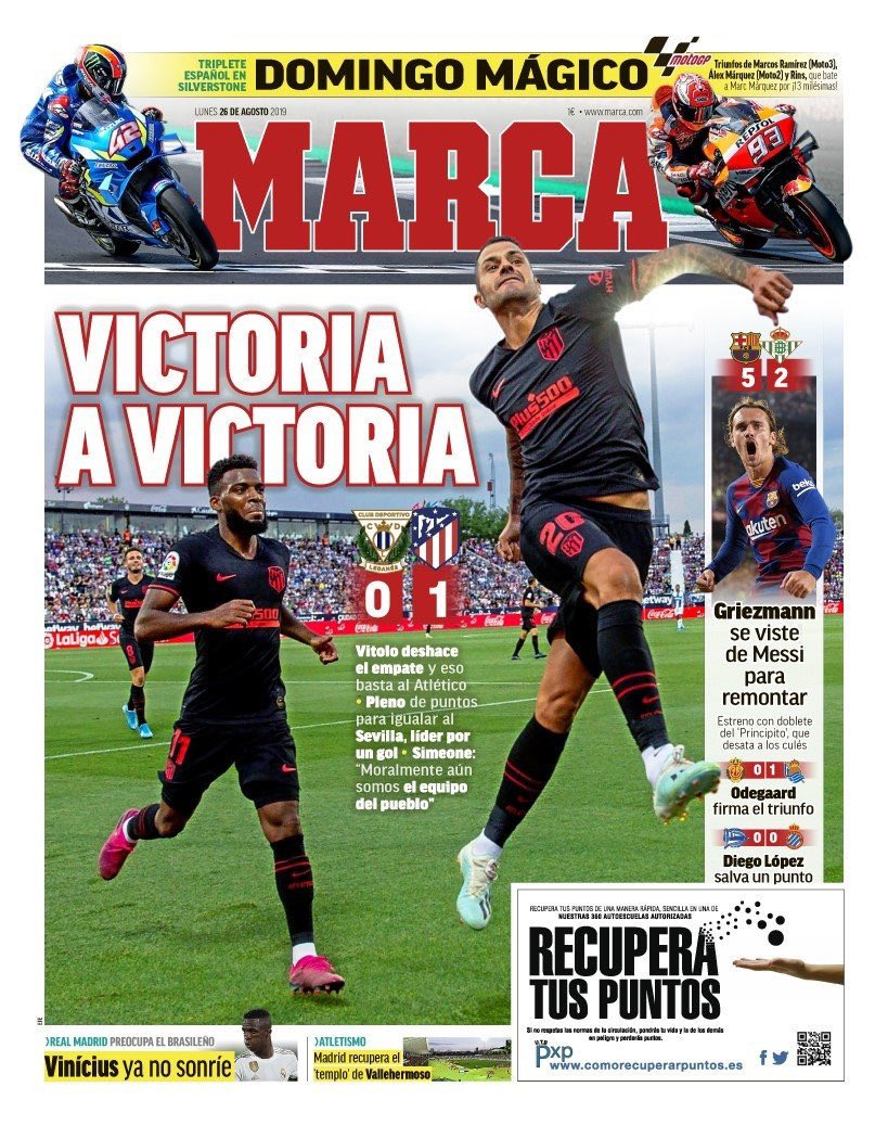 "RT @RMadridInfo: Marca's Cover | ""Vinicius is no longer smiling: Real Madrid worries the Brazilian."" https://t.co/ZoyMtCfug0"